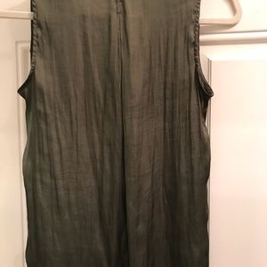 Banana Republic Tops - Banana Republic silk olive tank top